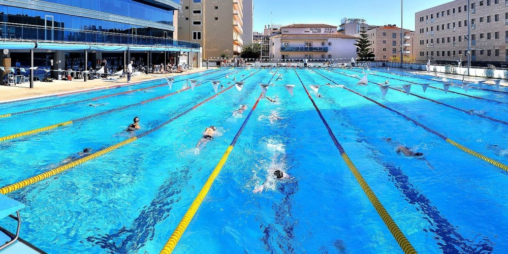 Swimming Pool Training : Calella spain camp update th january