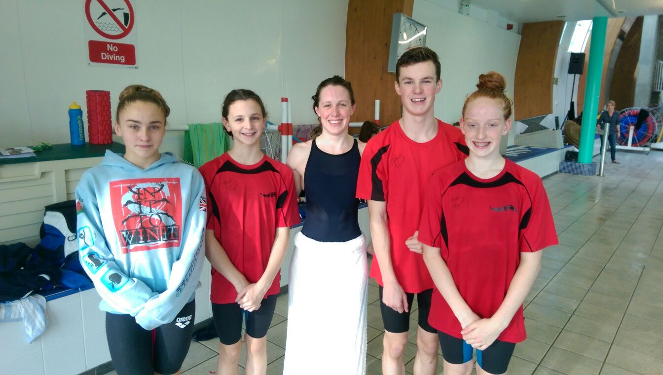Great Swims At The Northampton Level 1 Lc Meet Holywell Swimming Club